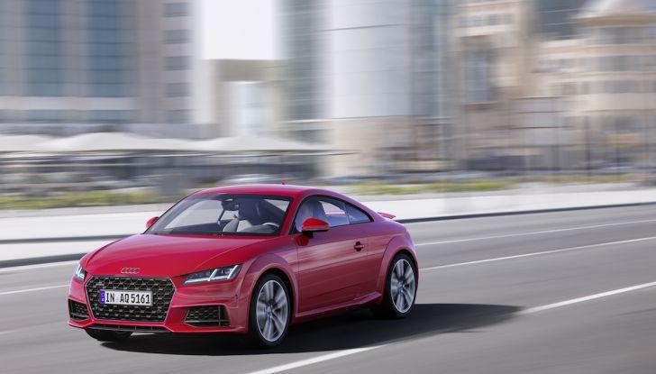 Nuova Audi TT 2018, il restyling per celebrare i 20 anni di produzione - Foto 26 di 34