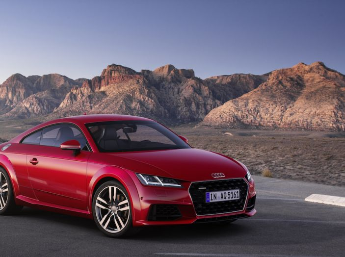 Nuova Audi TT 2018, il restyling per celebrare i 20 anni di produzione - Foto 8 di 34