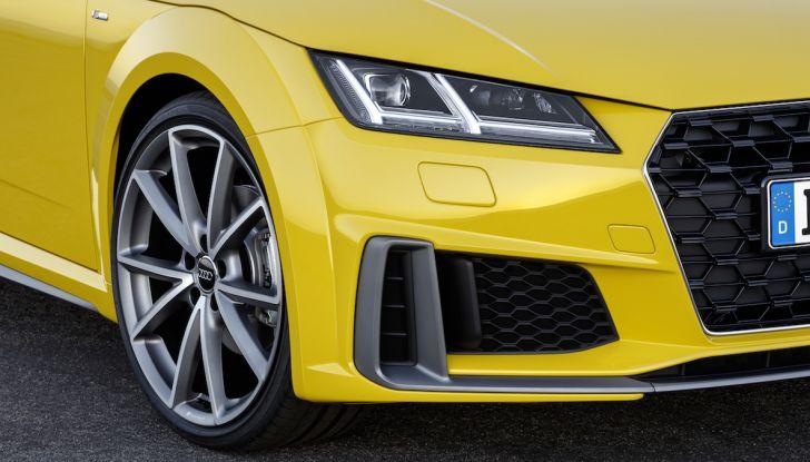 Nuova Audi TT 2018, il restyling per celebrare i 20 anni di produzione - Foto 7 di 34