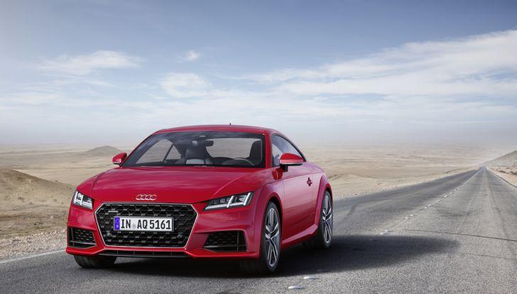 Nuova Audi TT 2018, il restyling per celebrare i 20 anni di produzione - Foto 29 di 34