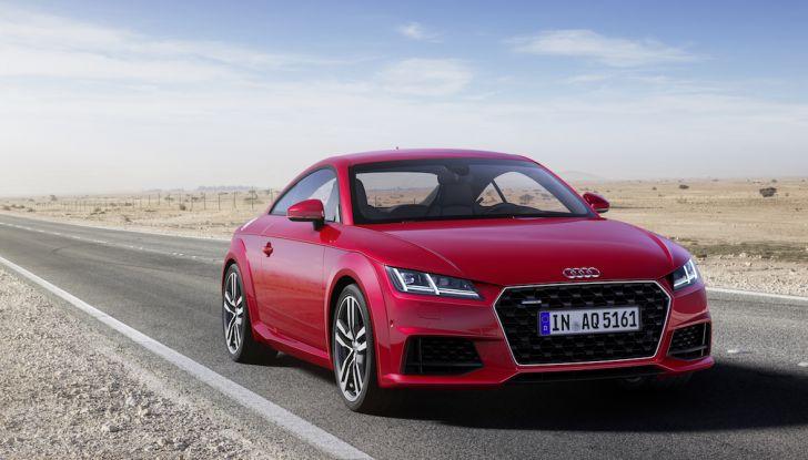Nuova Audi TT 2018, il restyling per celebrare i 20 anni di produzione - Foto 30 di 34