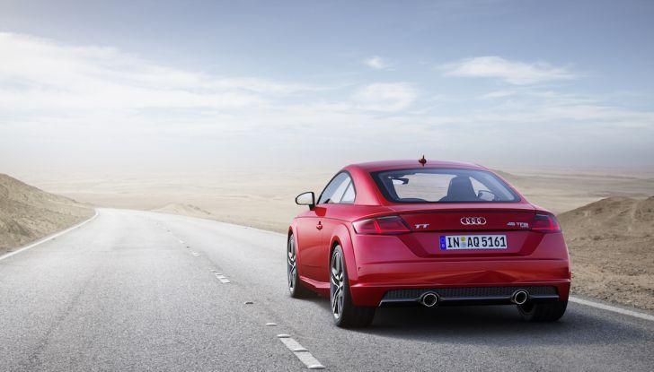 Nuova Audi TT 2018, il restyling per celebrare i 20 anni di produzione - Foto 31 di 34