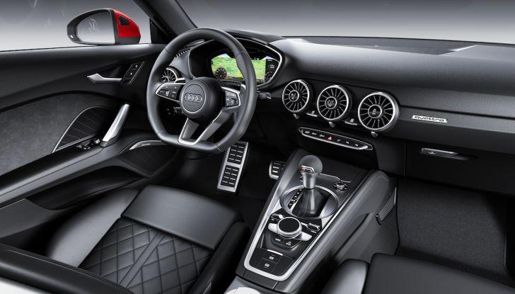 Nuova Audi TT 2018, il restyling per celebrare i 20 anni di produzione - Foto 32 di 34