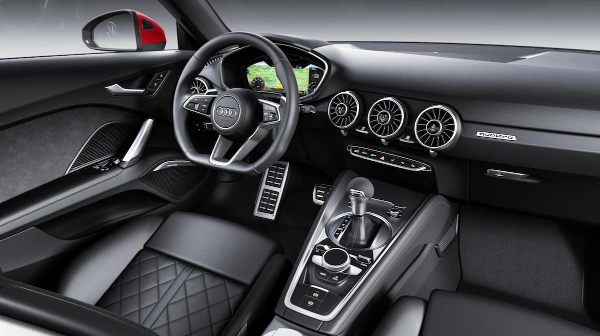 Nuova Audi TT 2018 interni