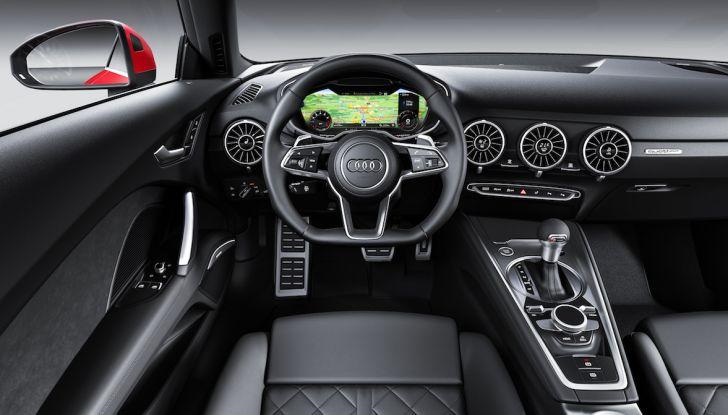 Nuova Audi TT 2018, il restyling per celebrare i 20 anni di produzione - Foto 33 di 34