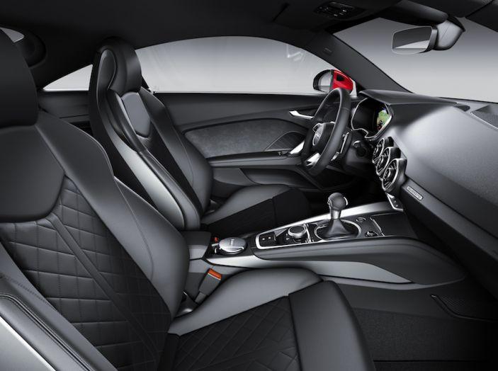 Nuova Audi TT 2018, il restyling per celebrare i 20 anni di produzione - Foto 34 di 34