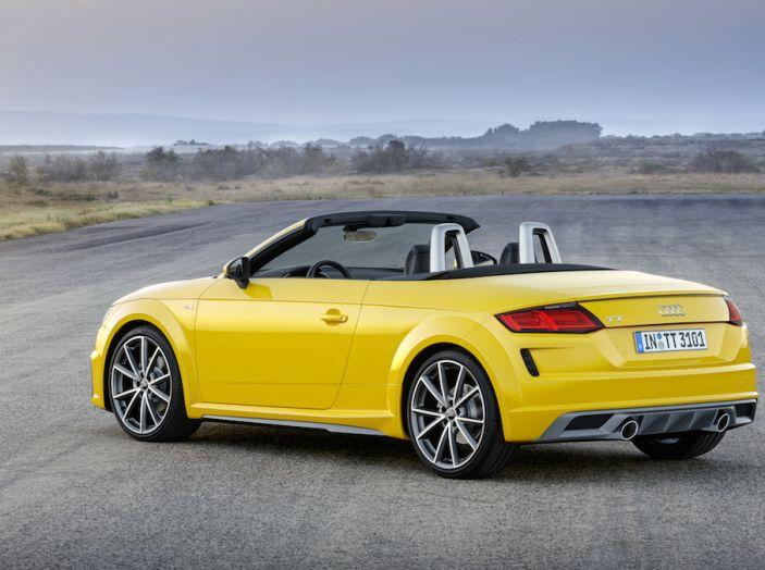 Nuova Audi TT 2018, il restyling per celebrare i 20 anni di produzione - Foto 9 di 34