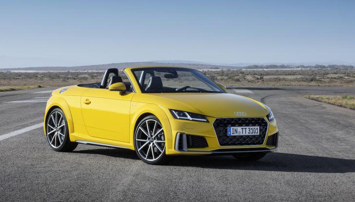 Nuova Audi TT 2018, il restyling per celebrare i 20 anni di produzione - Foto 11 di 34