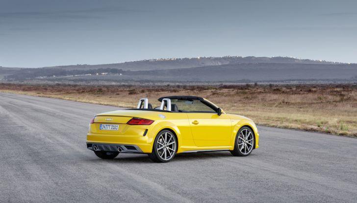 Nuova Audi TT 2018, il restyling per celebrare i 20 anni di produzione - Foto 12 di 34