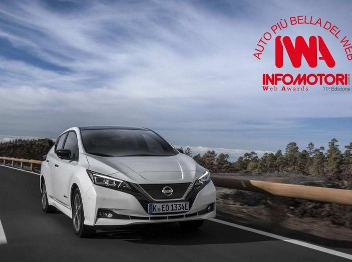 Nissan Leaf, Auto Piu' Bella del Web 2018 - Foto 1 di 12