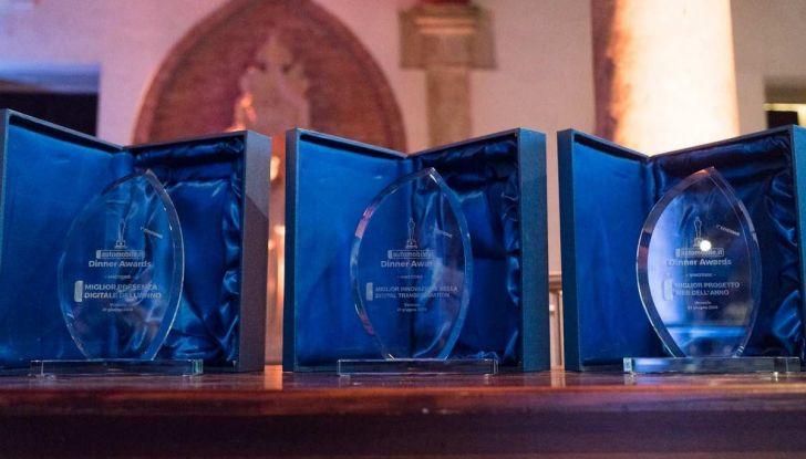 Automobile.it Dinner Awards vincono i concessionari Trivellato, AutoItalia, Tomasi e Guidi - Foto 4 di 11