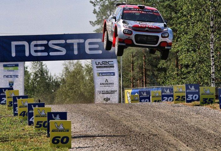 WRC2 di Finlandia: alto potenziale della Citroën C3 R5 - Foto 1 di 1