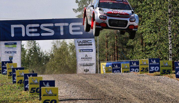 WRC2 di Finlandia: alto potenziale della Citroën C3 R5 - Foto  di