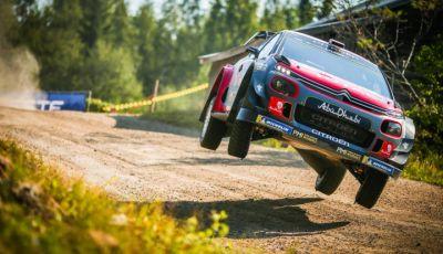 WRC Finlandia 2018 - Giorno 1: Mads Ostberg in lotta per il primo posto