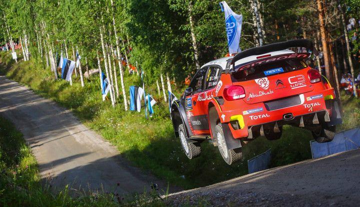 WRC Finlandia 2018 – presentazione: le C3 WRC nel tempio della velocità! - Foto  di