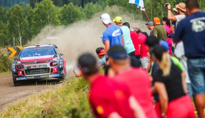 WRC Finlandia 2018 – Shakedown: due C3 WRC nelle prime due posizioni - Foto  di
