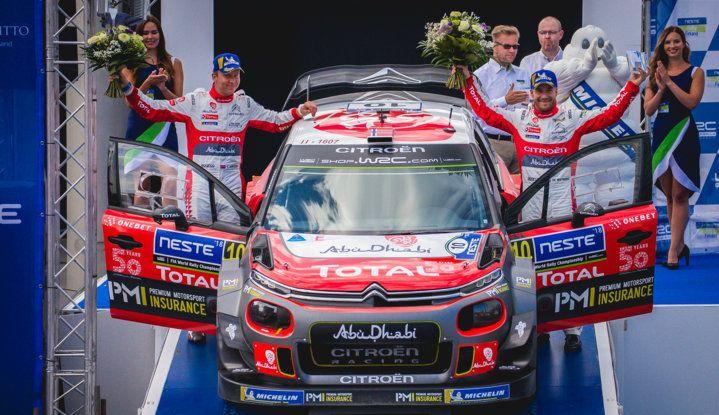 WRC Finlandia 2018: la sfida di Ostberg fino all'ultima speciale - Foto 3 di 4