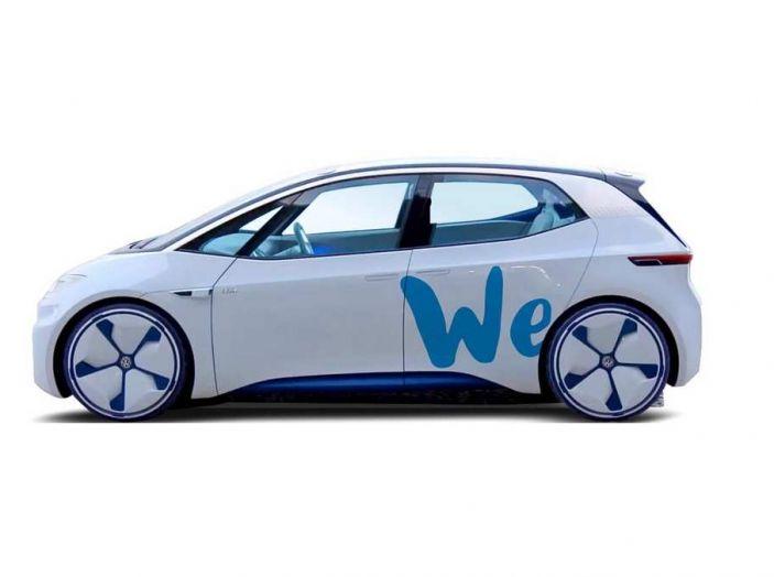 Il car sharing elettrico Volkswagen debutta nel 2019 - Foto 2 di 10