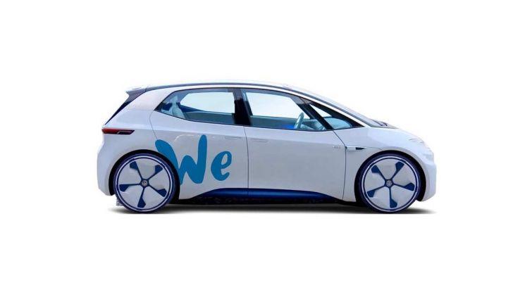 Il car sharing elettrico Volkswagen debutta nel 2019 - Foto 4 di 10