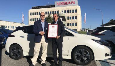 Nissan Leaf, Auto Piu' Bella del Web 2018