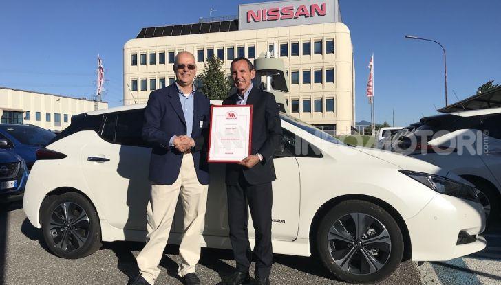 Nissan Leaf, Auto Piu' Bella del Web 2018 - Foto 1 di 13