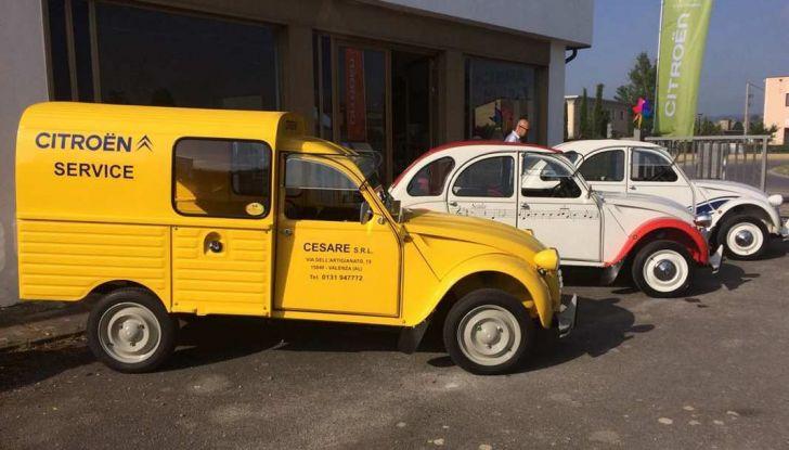 Citroen 2CV 70th Anniversary prova su strada e storia dell'auto - Foto 6 di 7