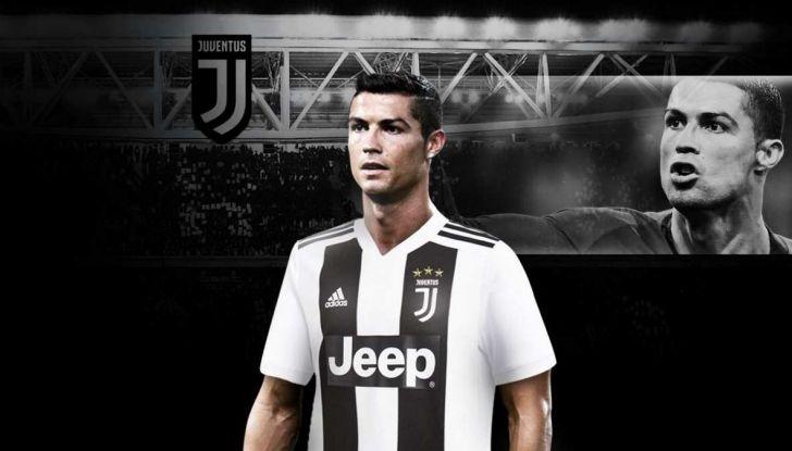 Cristiano Ronaldo alla Juve: un vantaggio per il brand Jeep? - Foto 1 di 5