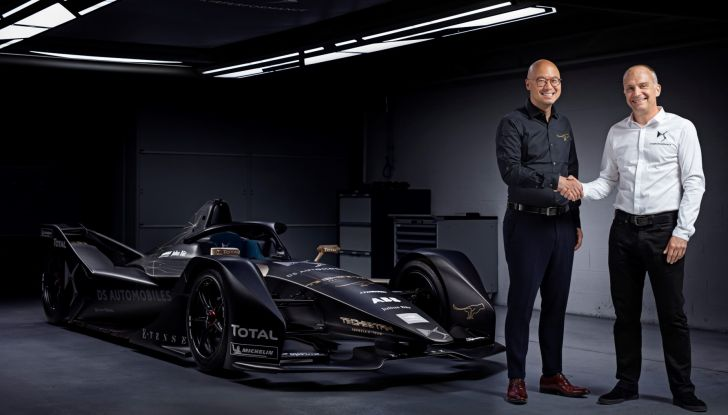 Nuova partnership tra DS Automobiles e Techeetah - Foto  di