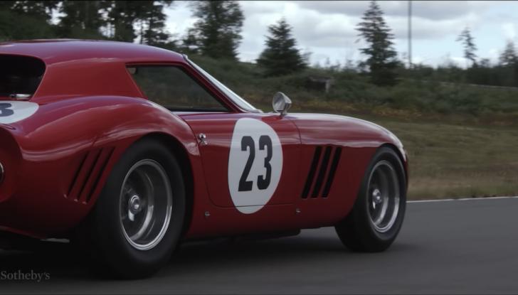 Ferrari 250 GTO del 1962: all'asta l'auto più costosa di tutti i tempi - Foto 3 di 15