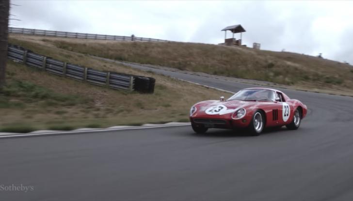 Ferrari 250 GTO del 1962: all'asta l'auto più costosa di tutti i tempi - Foto 15 di 15