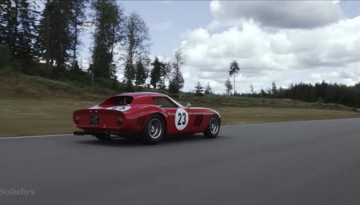 Ferrari 250 GTO del 1962: all'asta l'auto più costosa di tutti i tempi - Foto 5 di 15
