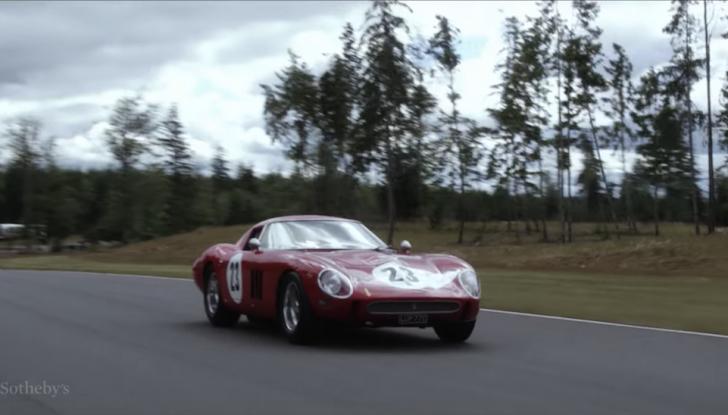 Ferrari 250 GTO del 1962: all'asta l'auto più costosa di tutti i tempi - Foto 8 di 15