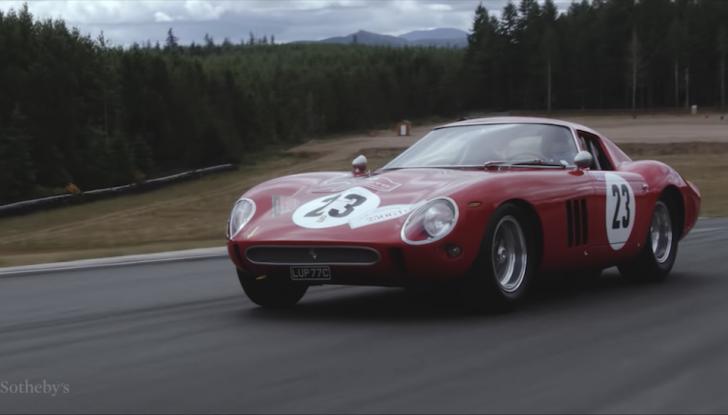 Ferrari 250 GTO del 1962: all'asta l'auto più costosa di tutti i tempi - Foto 1 di 15