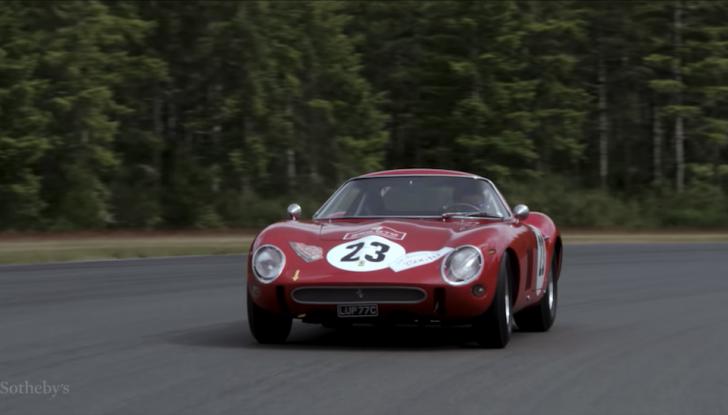 Ferrari 250 GTO del 1962: all'asta l'auto più costosa di tutti i tempi - Foto 6 di 15