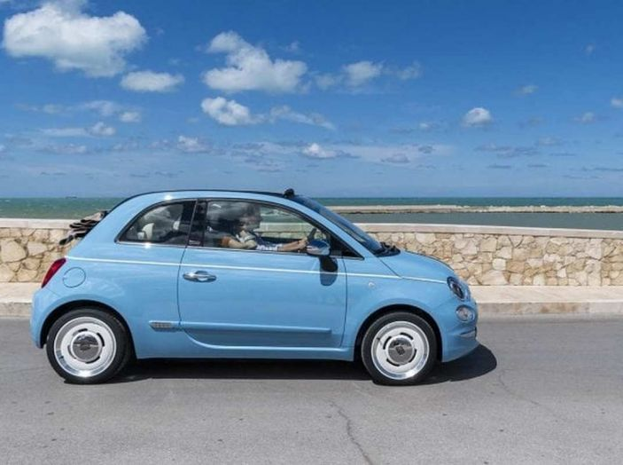 Fiat 500 Spiaggina by Garage Italia, omaggio alla Jolly Spiaggina del 1958 - Foto 7 di 18