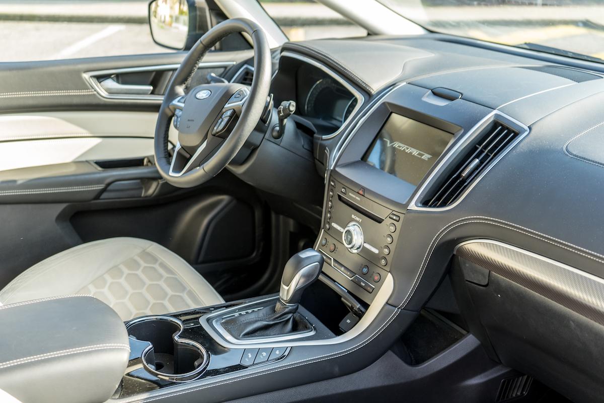 Ford S-Max, gli interni