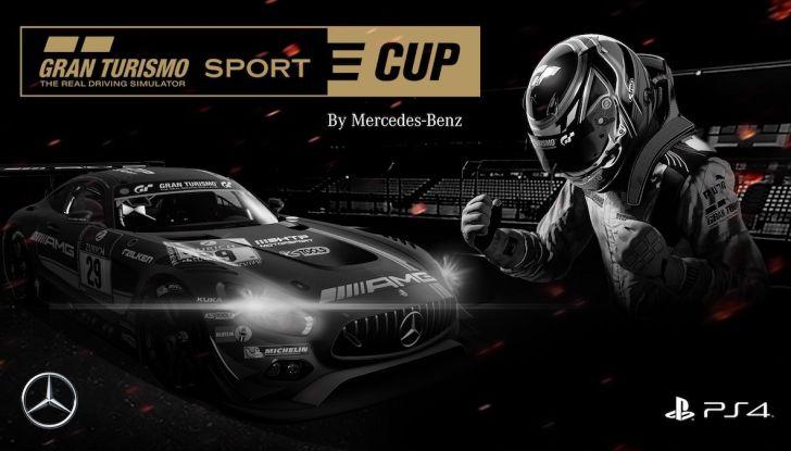 Gran Turismo Sport 2018, la e-Cup aperta a tutti con Mercedes-Benz - Foto 1 di 8