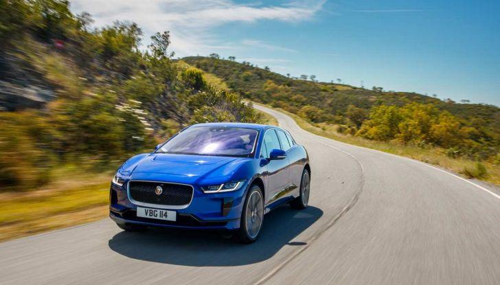 Jaguar I-PACE prova su strada, prestazioni, autonomia e ricarica - Foto 12 di 29