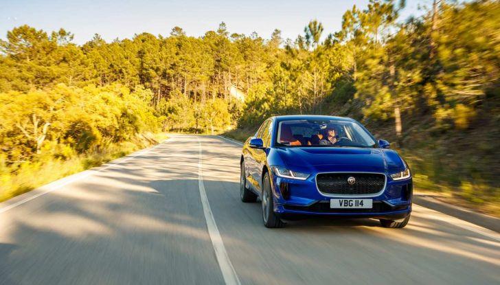 Jaguar I-PACE prova su strada, prestazioni, autonomia e ricarica - Foto 20 di 29