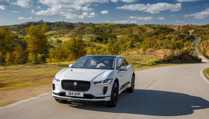 Jaguar I-PACE prova su strada, prestazioni, autonomia e ricarica - Foto 23 di 29