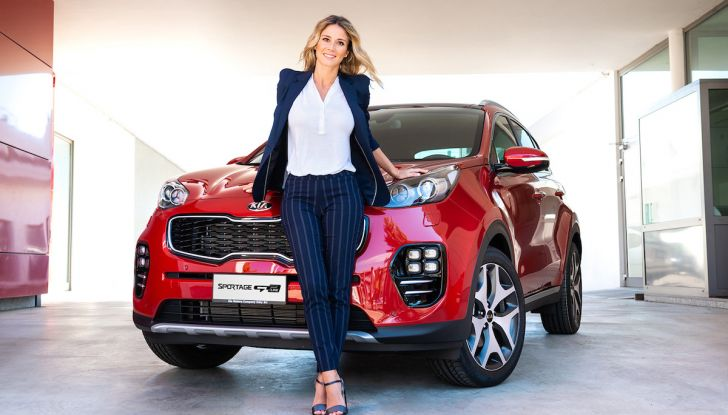 Diletta Leotta è la nuova testimonial di Kia Sportage per il 2018 - Foto 2 di 8