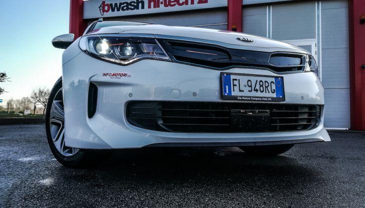 Kia Optima SW Plug-In Hybrid prova su strada, consumi e prestazioni - Foto 15 di 54