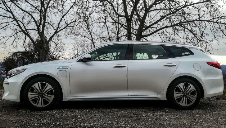 Kia Optima SW Plug-In Hybrid prova su strada, consumi e prestazioni - Foto 24 di 54