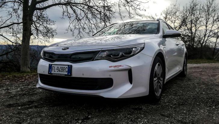 Kia Optima SW Plug-In Hybrid prova su strada, consumi e prestazioni - Foto 1 di 54