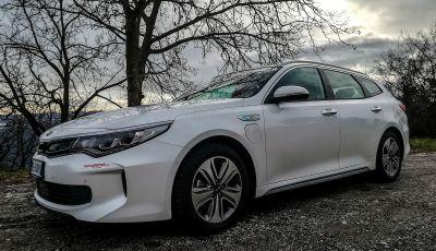 Kia Optima SW Plug-In Hybrid prova su strada, consumi e prestazioni