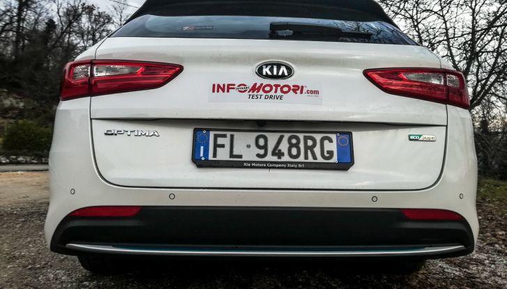 Kia Optima SW Plug-In Hybrid prova su strada, consumi e prestazioni - Foto 50 di 54