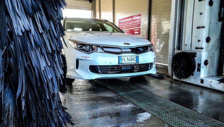Kia Optima SW Plug-In Hybrid prova su strada, consumi e prestazioni - Foto 10 di 54