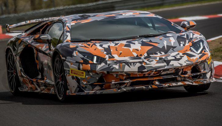 Lamborghini Aventador SVJ, record al Nurburgring: è la più veloce di sempre - Foto 1 di 11