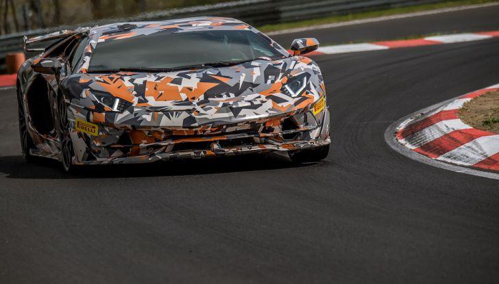 Lamborghini Aventador SVJ, record al Nurburgring: è la più veloce di sempre - Foto 6 di 11
