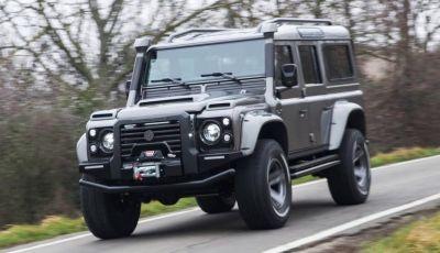 Land Rover Defender Ares, il V8 da 212.000 Euro arriva da Modena